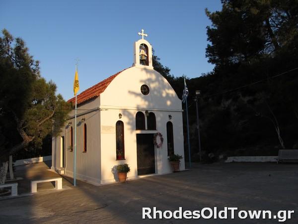 Profitis Ilias neue Kapelle
