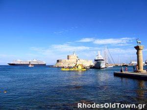 Nieuwe stad Rhodos Mandraki