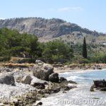 Zee en rotsen