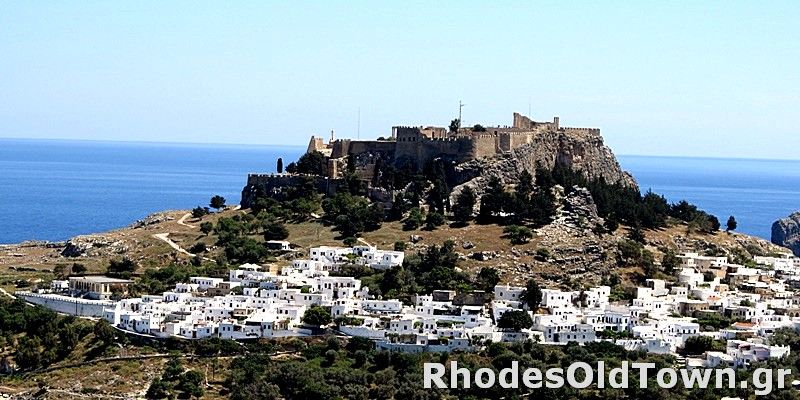 Panoramic View of Lindos