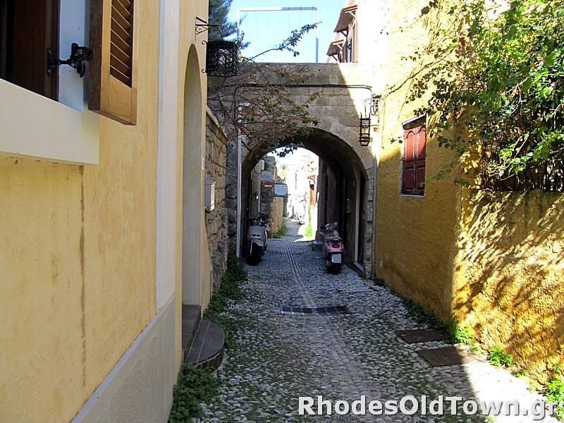 Dimosthenous street (Δημοσθένους)