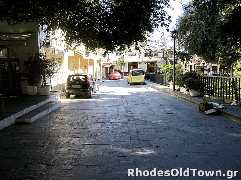 Evdimou street (Ευδήμου)