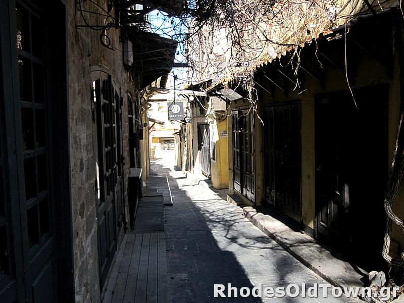 Evripidou street (Ευριπίδου)