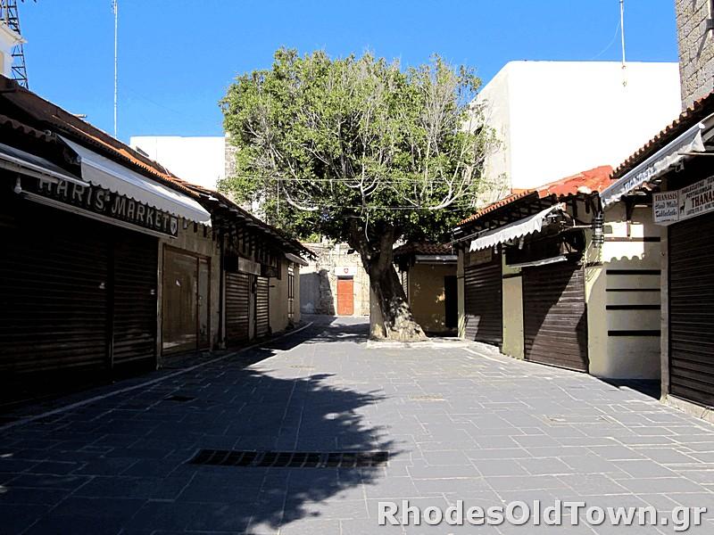 Lachitos street (Λάχητος)
